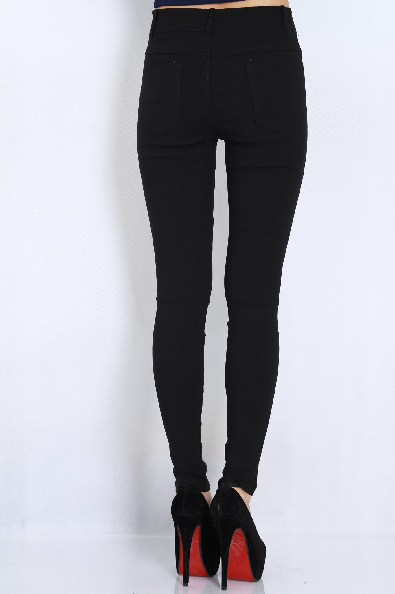 Fitting Jeans (Black) -  - 4