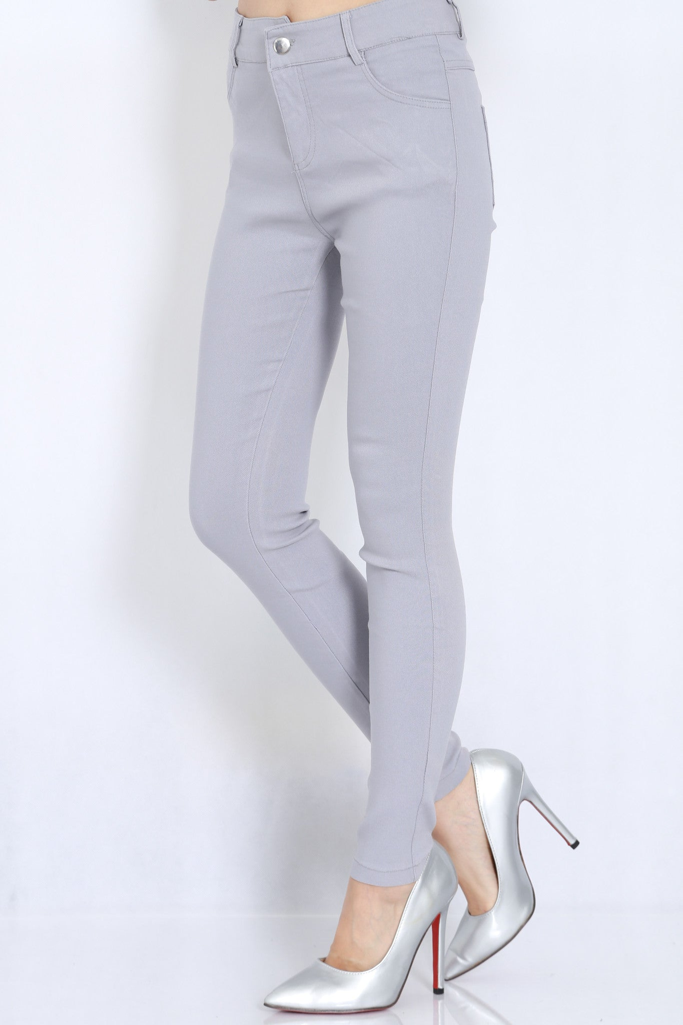 Fitting Jeans (Grey) -  - 1