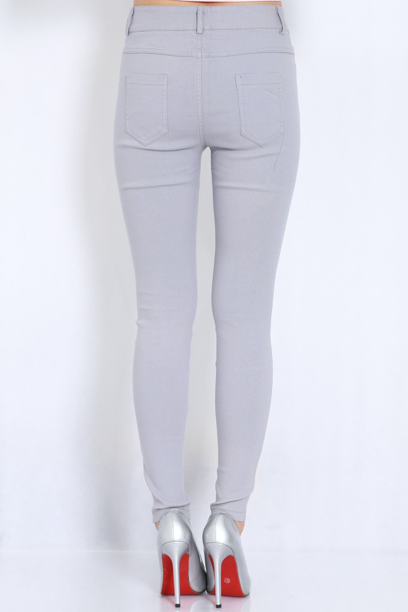 Fitting Jeans (Grey) -  - 4