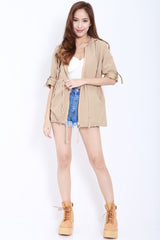 Hooded Parka (Khaki) -  - 3