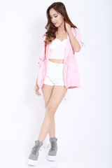 Hooded Parka (Pink) -  - 3