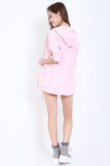 Hooded Parka (Pink) -  - 6