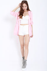 Hooded Parka (Pink) -  - 7
