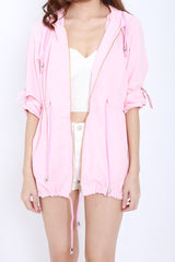 Hooded Parka (Pink)