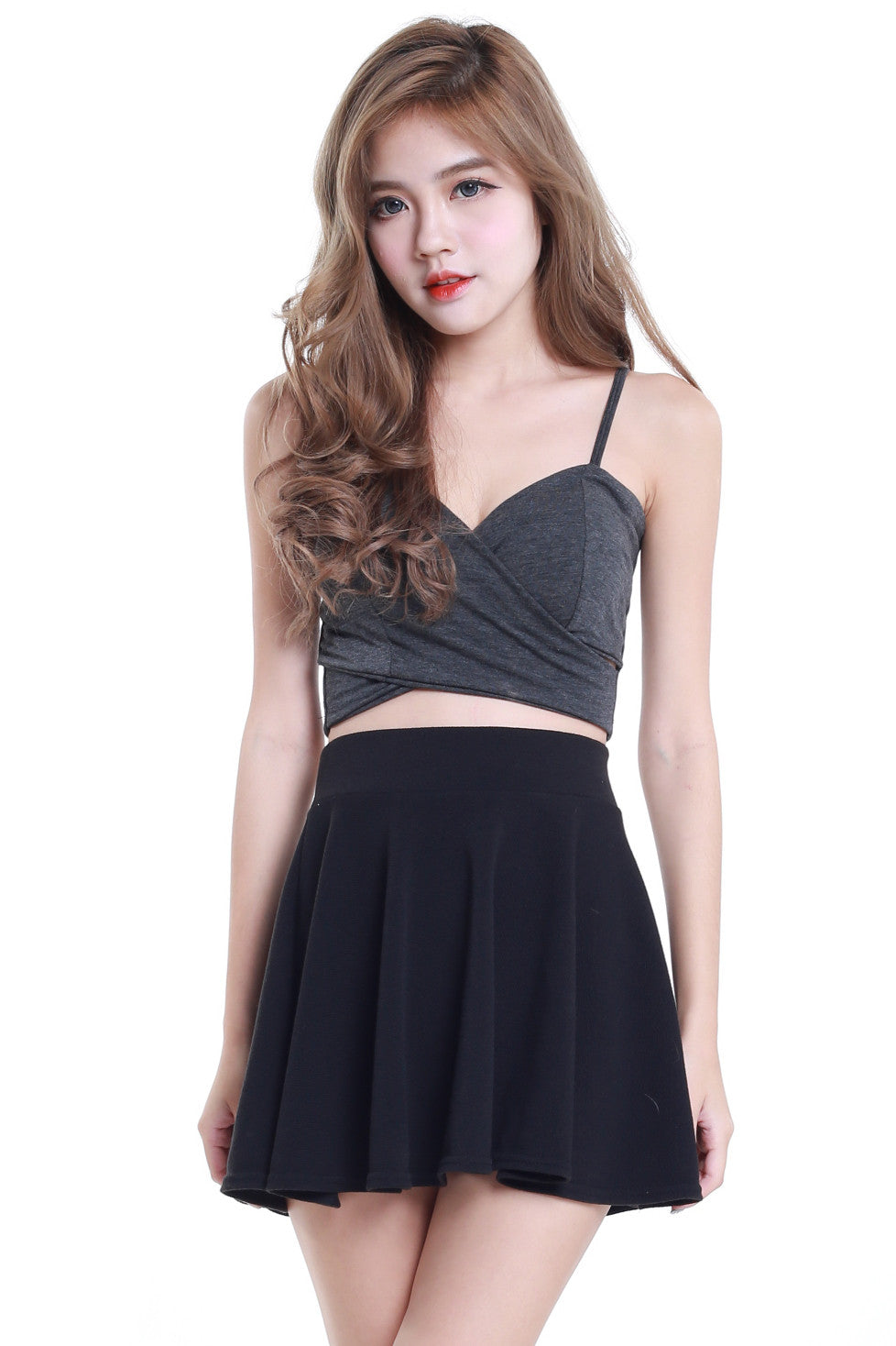 Underwrap Bralet (Dark Grey) -  - 6