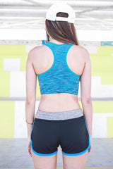 Niobrium Sports Bra (Blue) -  - 6