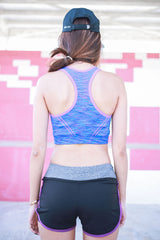 Niobrium Sports Bra (Purple) -  - 4