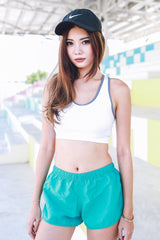 Basic Runner Shorts (Green) -  - 2