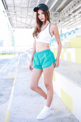 Basic Runner Shorts (Green) -  - 4