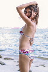 Colour Pop Bubble Bikini -  - 5