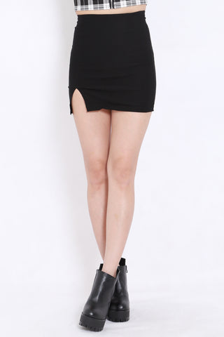 Slit Bandage Skirt