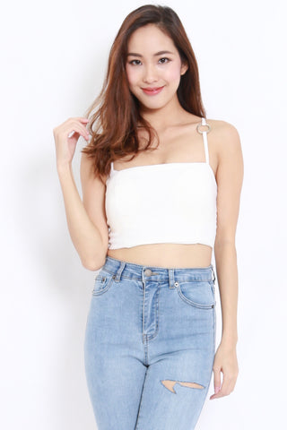 Ring Bandeau Spag (White)