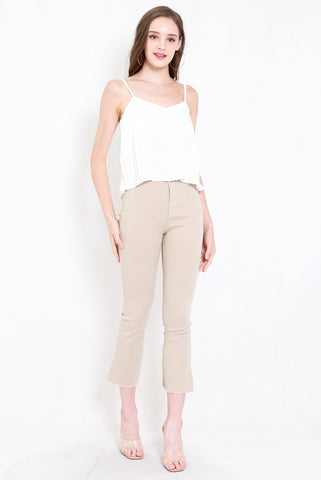 Perfect Frayed Edge Denim (Nude)
