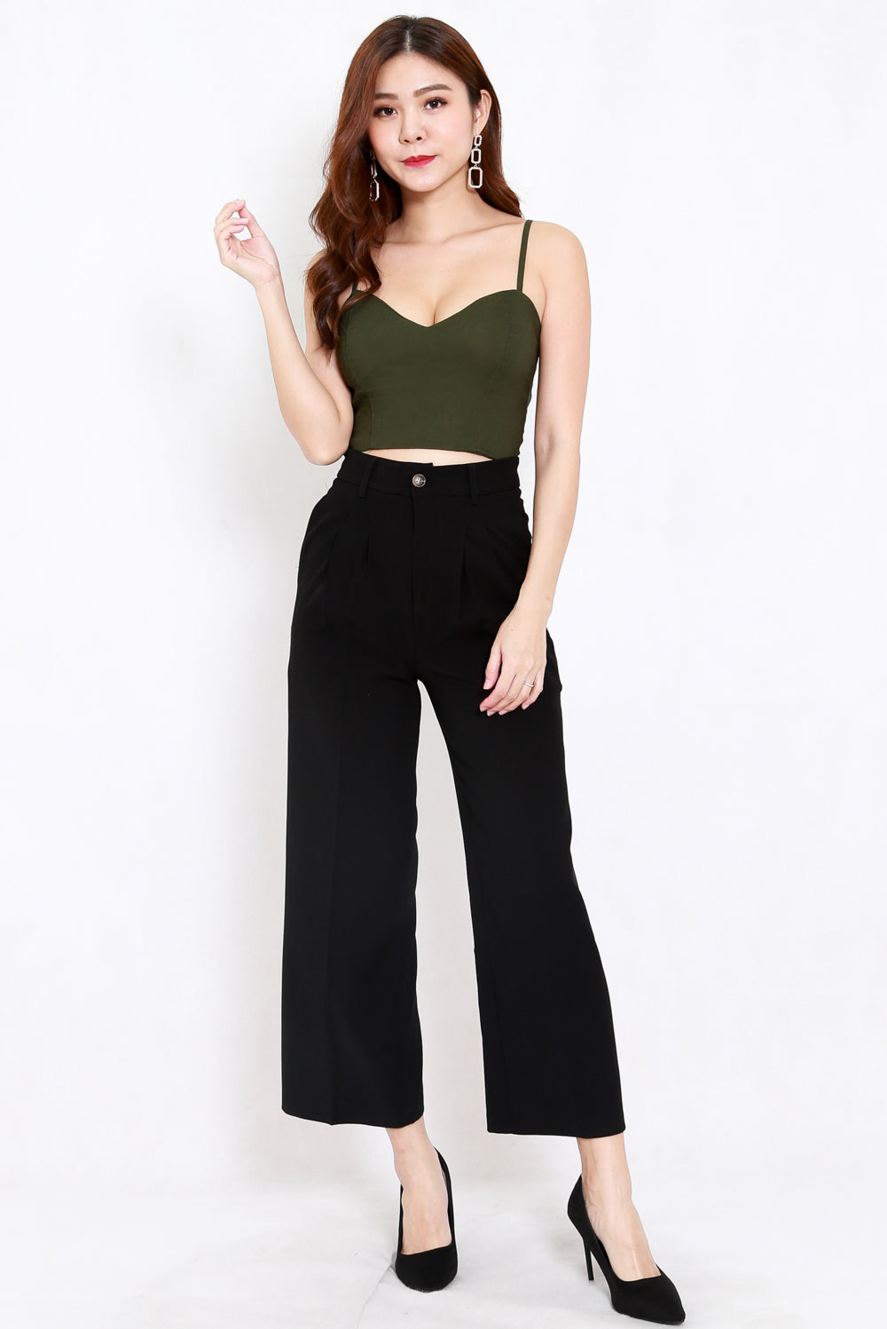 Indika Tailored Pants (Black)