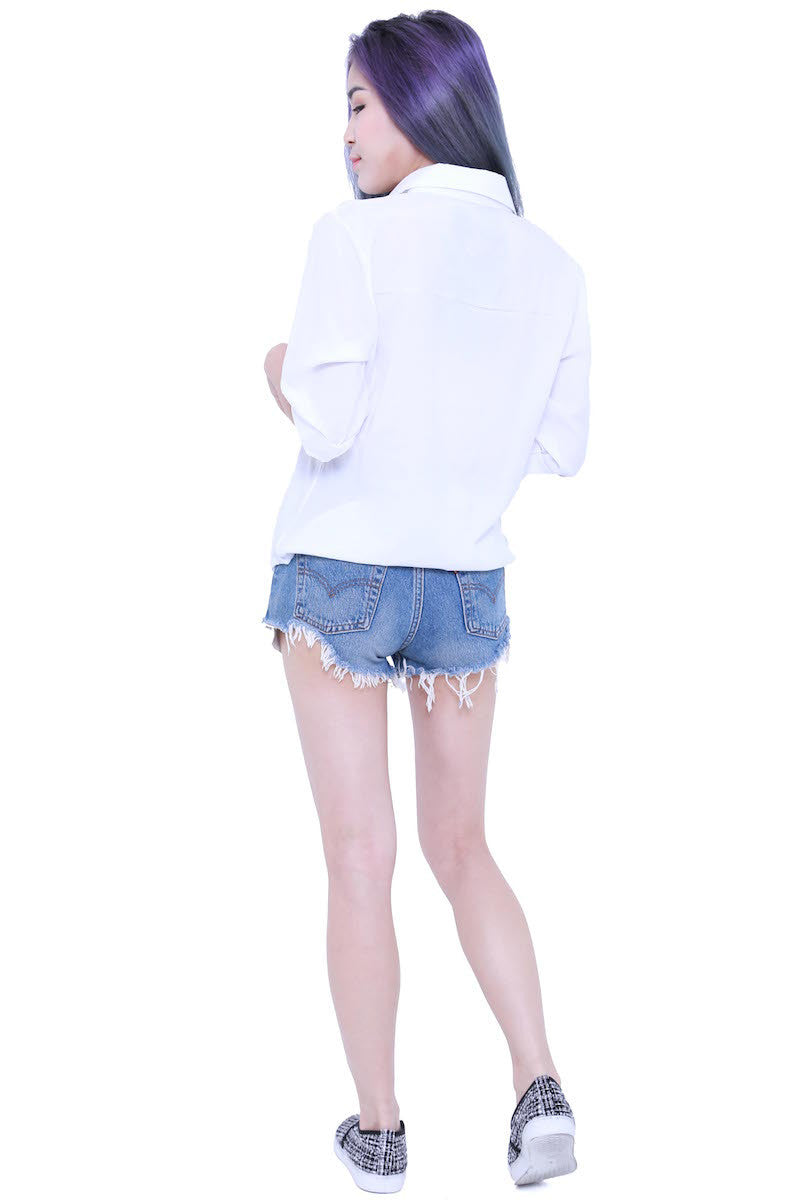 Casual Shirt (White) -  - 5