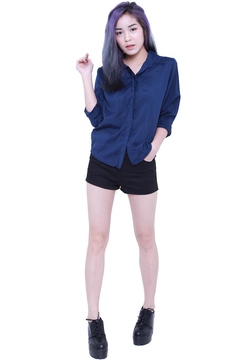 Casual Shirt (Navy) -  - 3