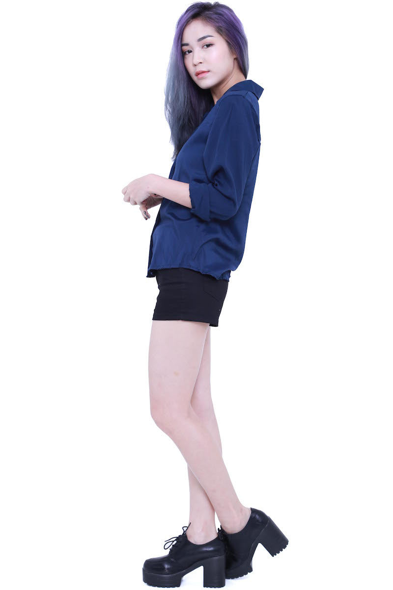 Casual Shirt (Navy) -  - 4