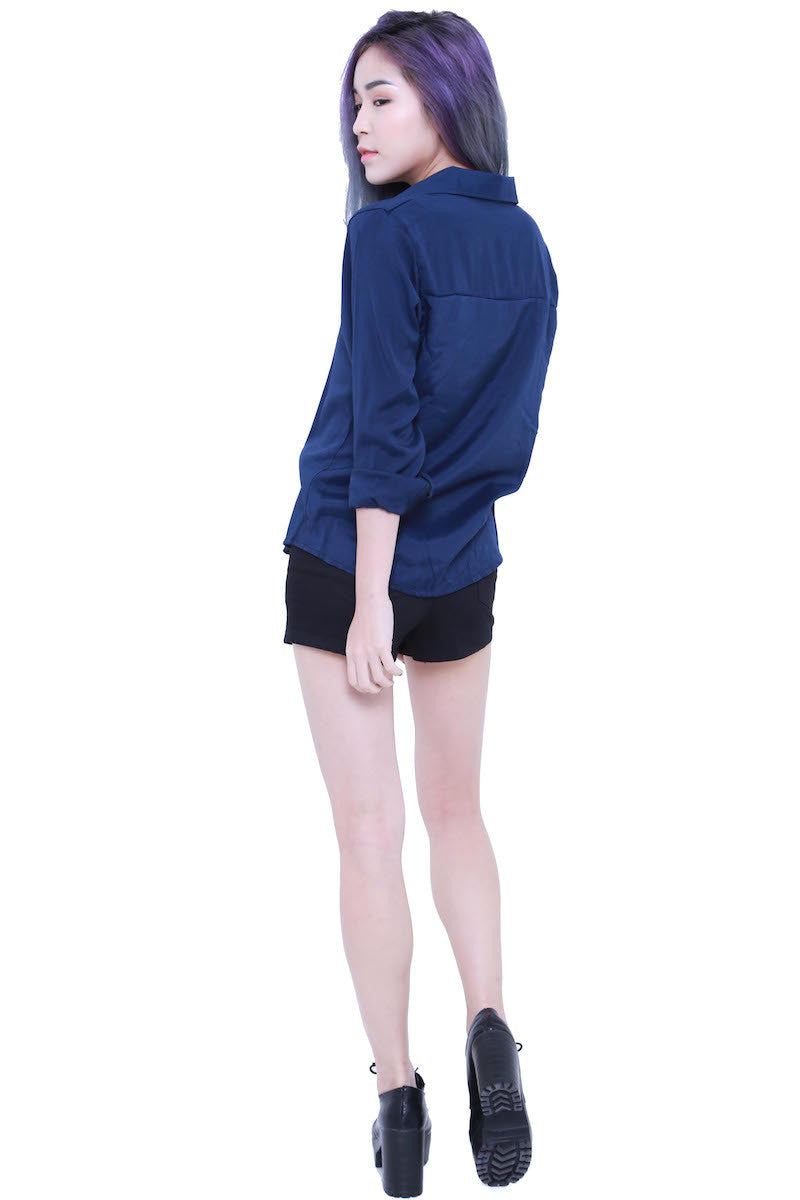 Casual Shirt (Navy) -  - 5