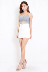 Rikka Lace Bralet (Blue) *Push Up Effect*