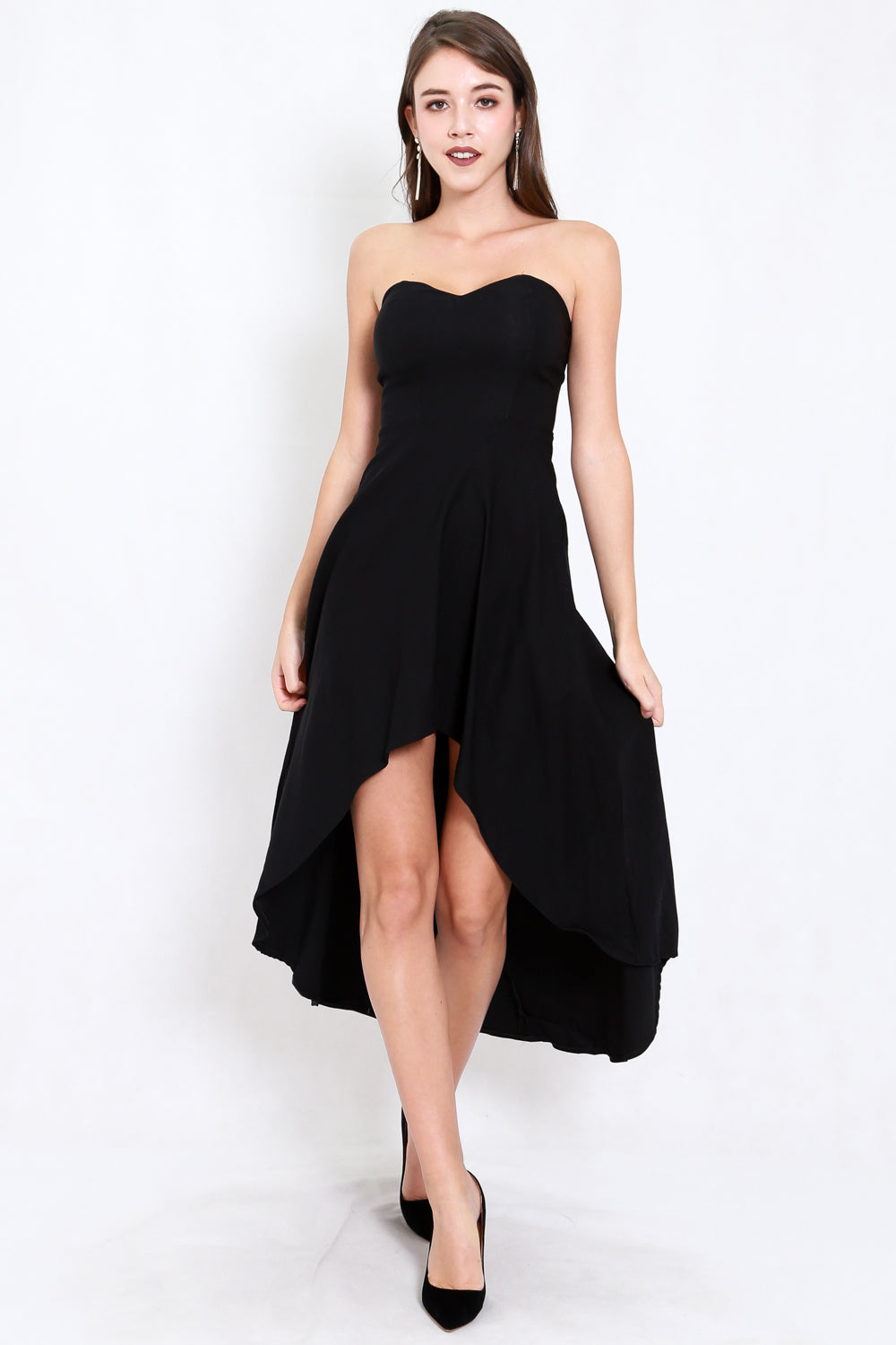 Sweetheart Cocktail Dress (Black)