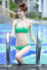 Brittany Ring Bikini (Green) -  - 2