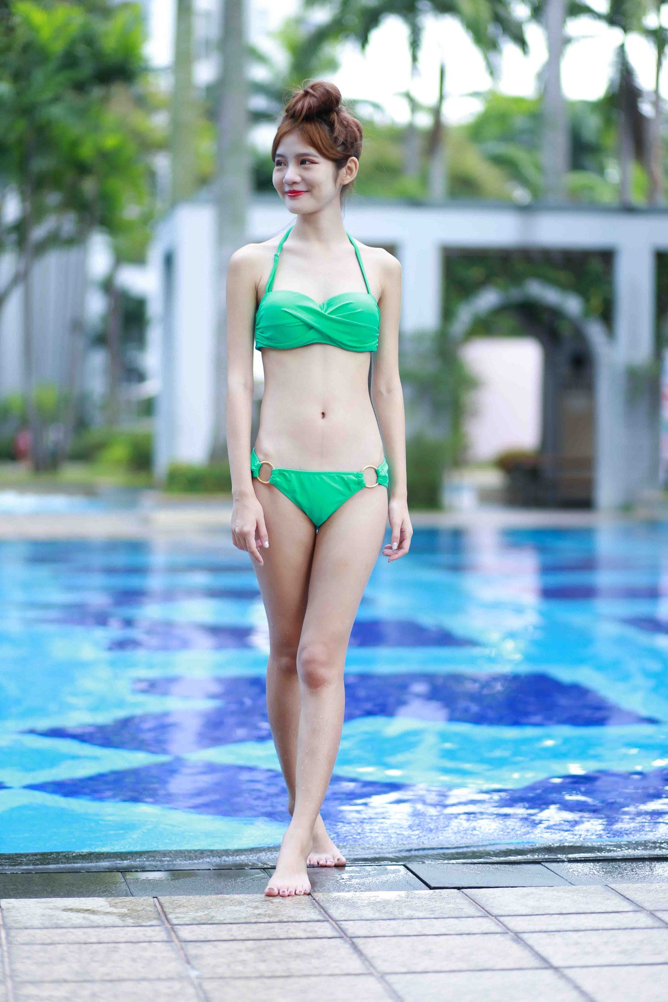 Brittany Ring Bikini (Green) -  - 3