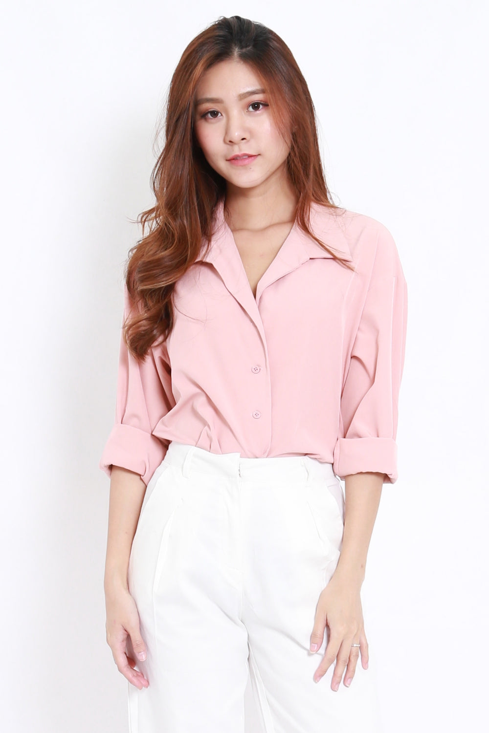 Basic Work Shirt (Pink)