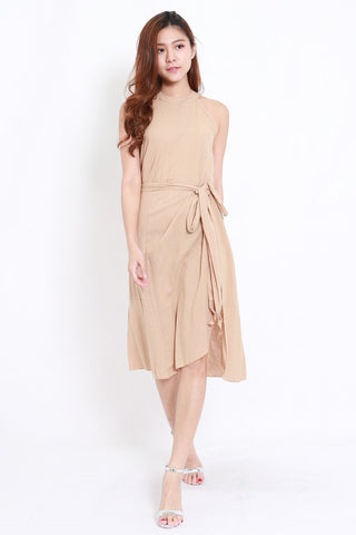 Linen 2pcs Set (Nude)