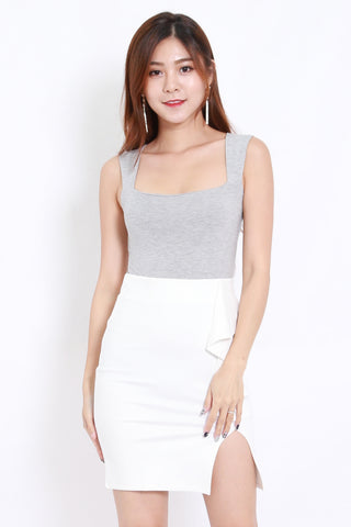 Queen Anne Top (Grey)