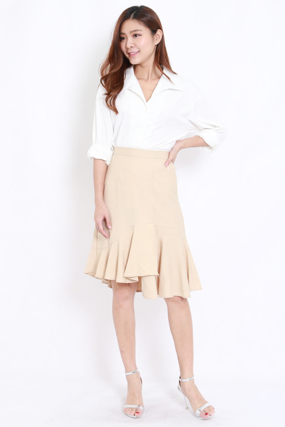 Basic Work Shirt (White)