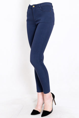 Skinny High Waist Jeans (Medium Blue)
