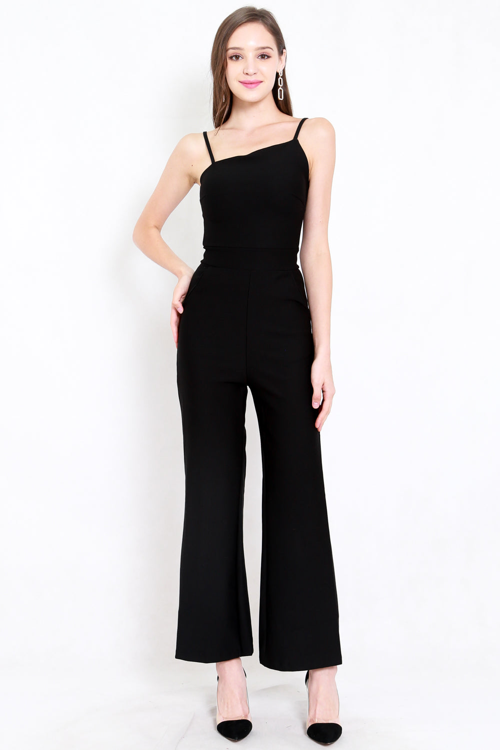 *Premium* Love Me Jumpsuit (Black)