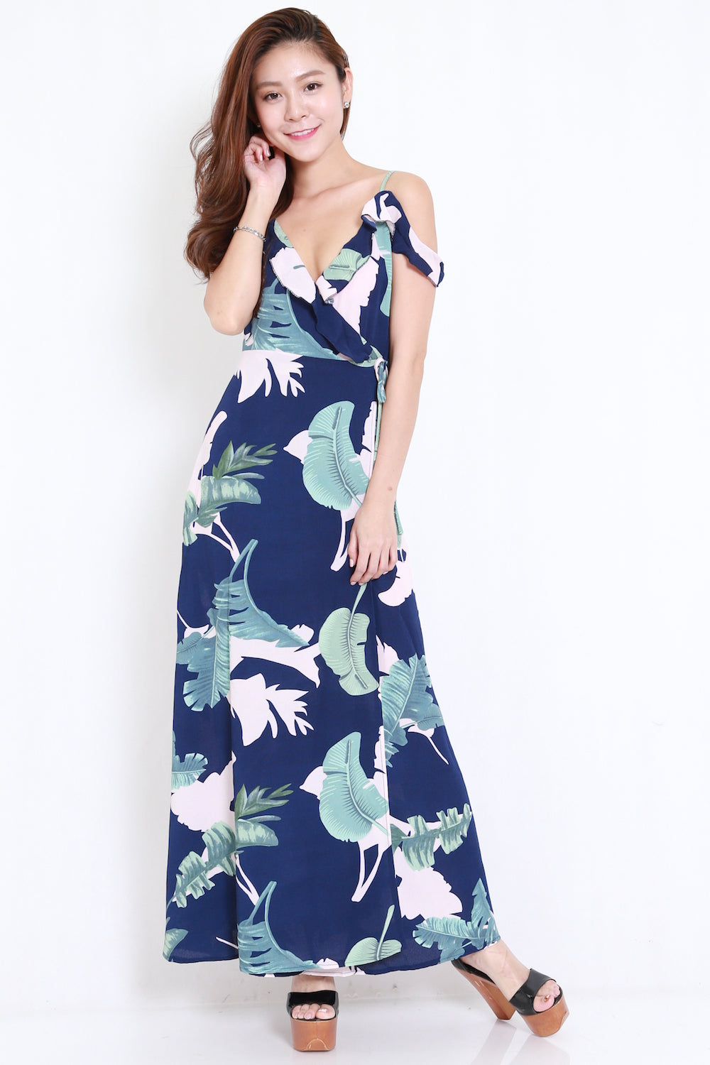 Island Off Shoulder Maxi