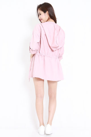 Lightweight Parka (Blush)
