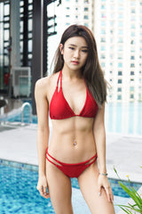 Multiway Braided Bikini (Red)
