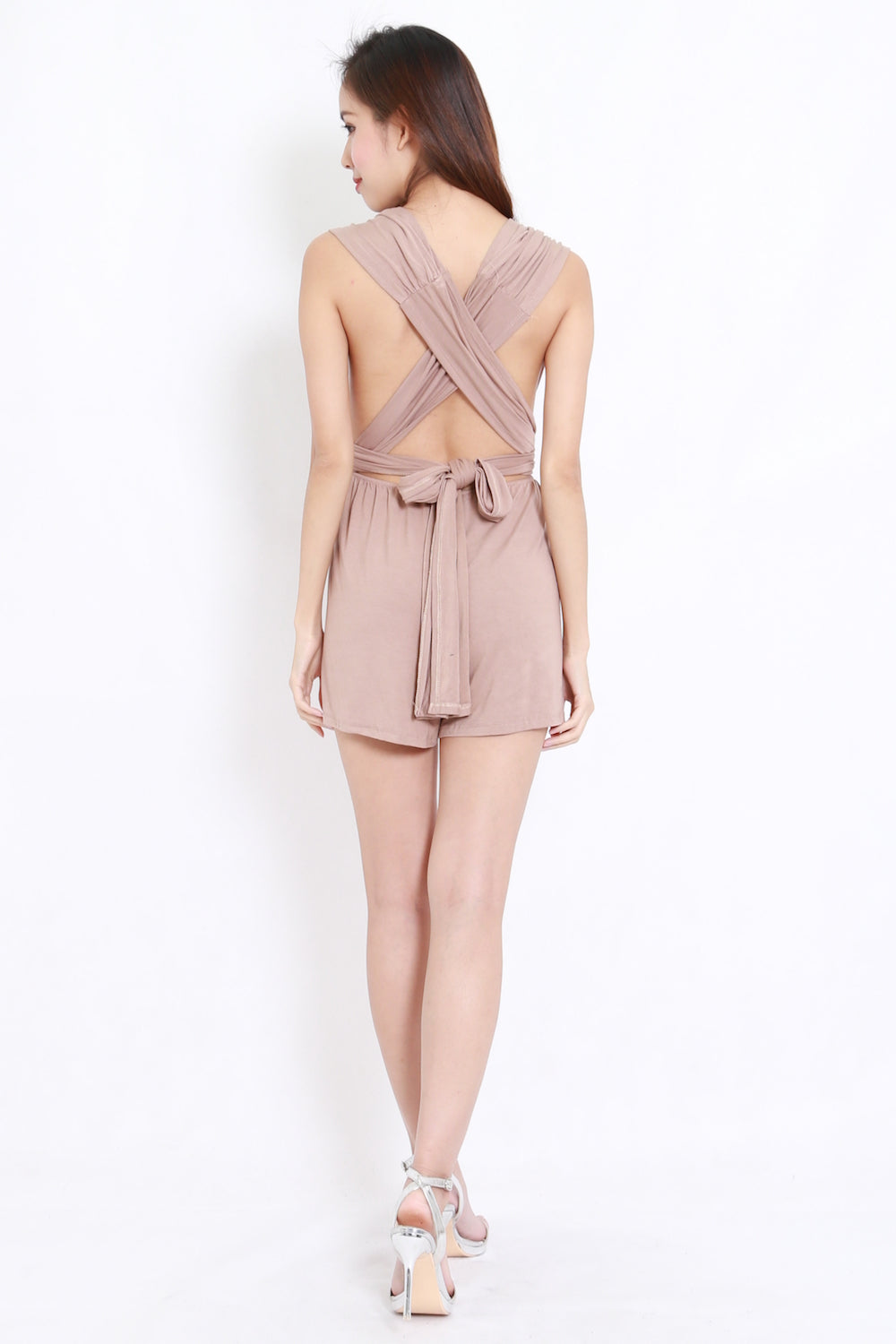 Multiway Romper (Taupe)