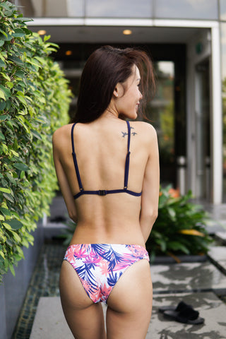 Pink Summer Triangle Bikini