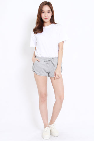 Pocket Runner Shorts (Grey)