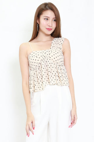 Polka Toga Top (Cream)