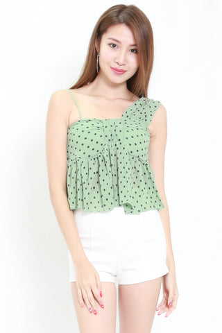 Polka Toga Top (Green)