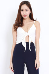 Ribbon Crop Spag (White)