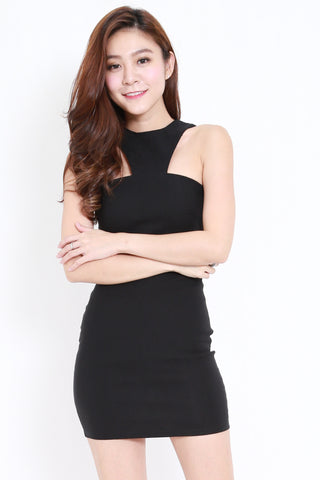 Rosalyn Bandage Dress (Black)