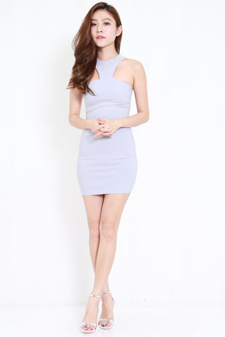 Rosalyn Bandage Dress (Light Grey)