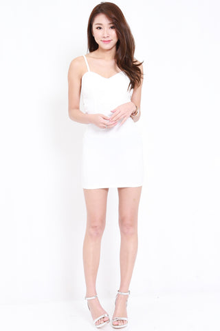 Side Cross Dress (White)