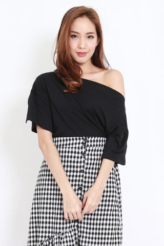 Slit Sleeve Offsie (Black)