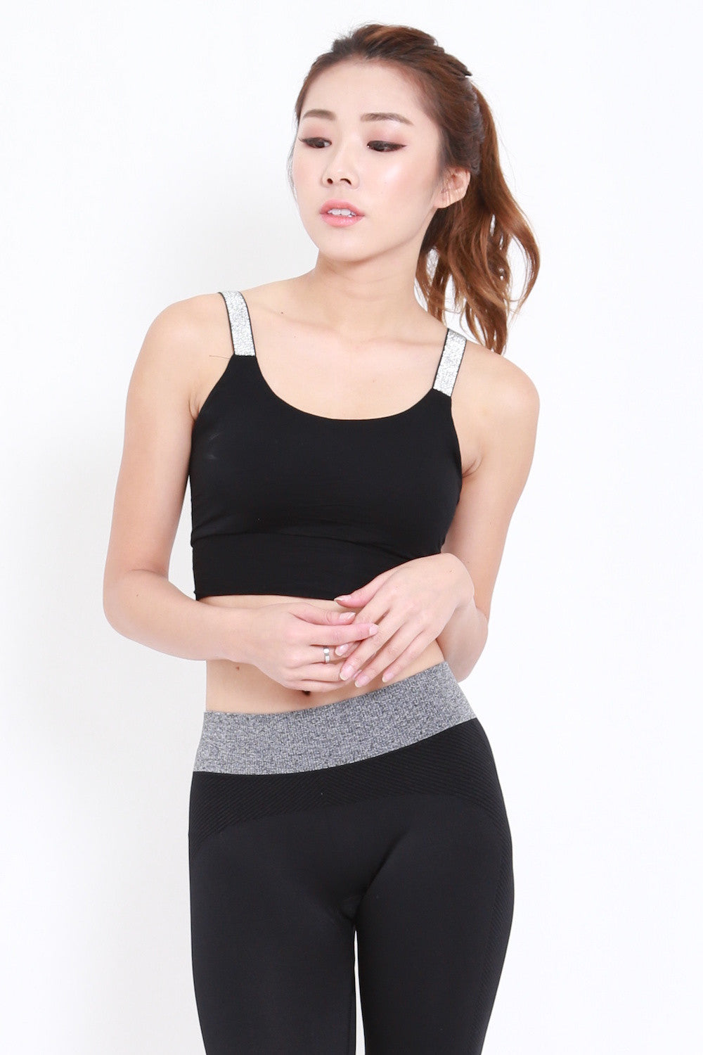 Static Basic Bra (Black)