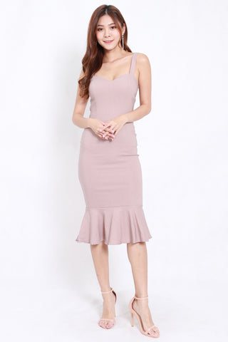 Sweetheart Mermaid Dress (Nude)