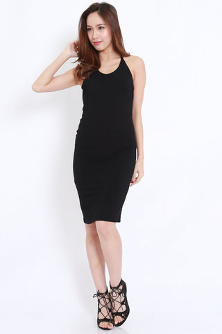 T Back Dress (Black)