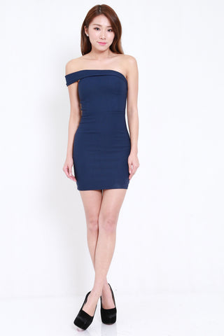 Toga Bandage Dress (Navy)