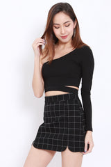 Toga Cutout Top (Black)